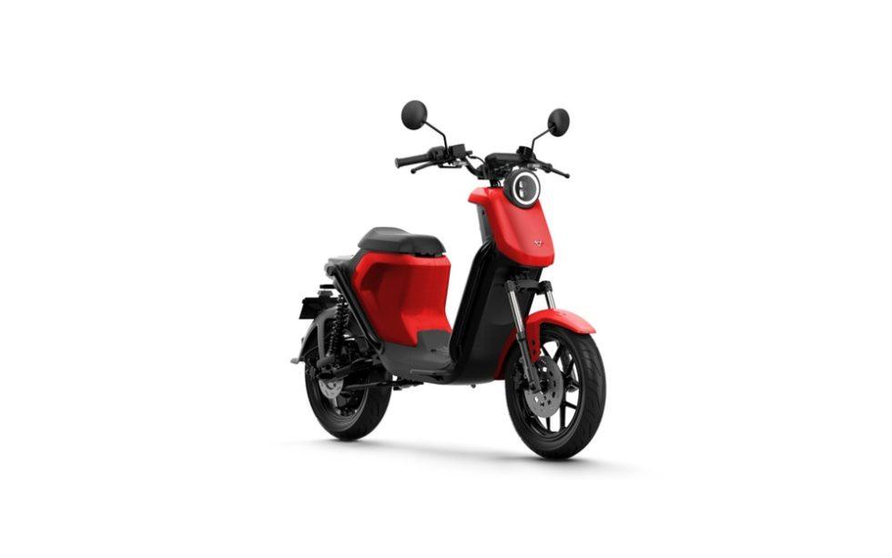 Niu-E-Scooter U-Qi-GT Pro rot