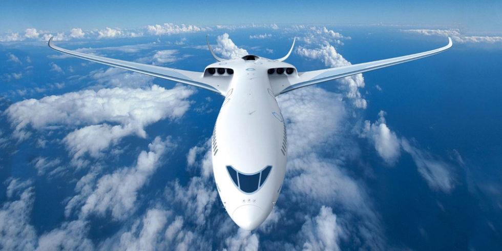 Foto Airbus-Flugzeug