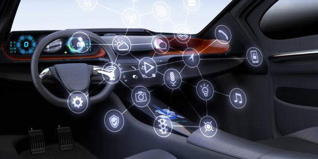 Sensoren im Auto