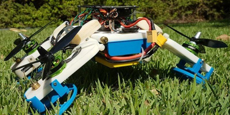 Das ist die Fstar Transfomer-Drohne. Foto: Ben-Gurion University of the Negev
