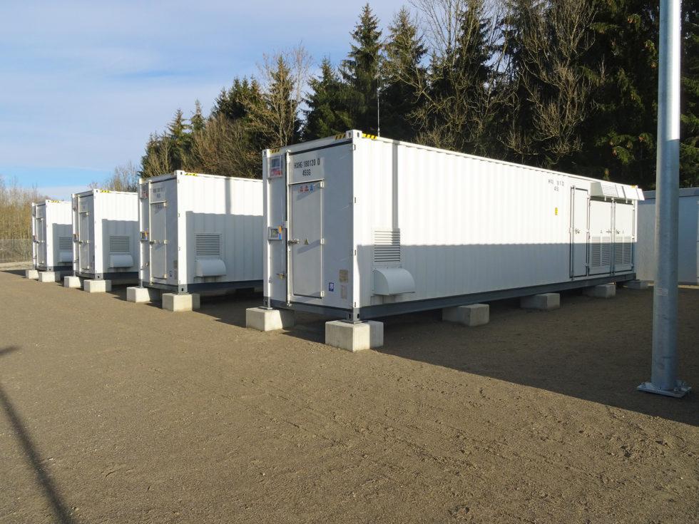 Die Container halten die Temperatur konstant.<br />Foto: Allgäuer Überlandwerk GmbH