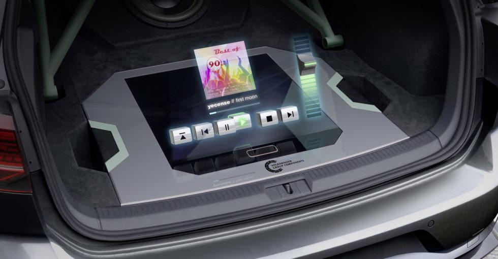 Hologramme bieten Funktionen wie normale Soundanlagen.