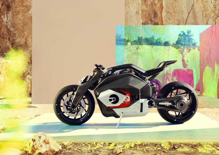BMW zeigt seine Vision vom elektrischen Motorrad