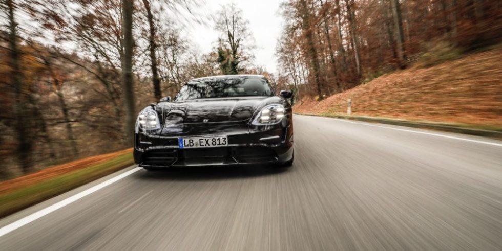 Porsche Taycan im Straßentest