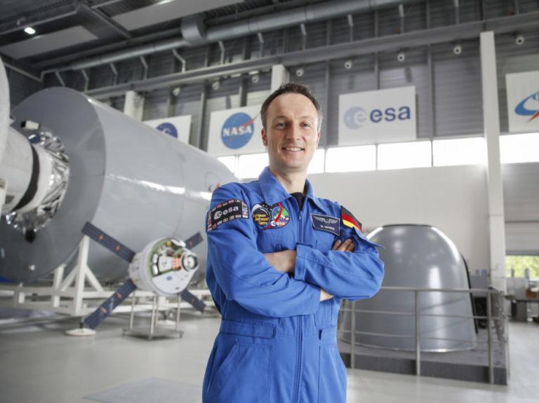 Matthias Maurer im European Astronaut Center in Köln.