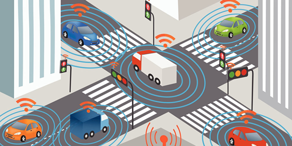 Illustration autonomes Fahren