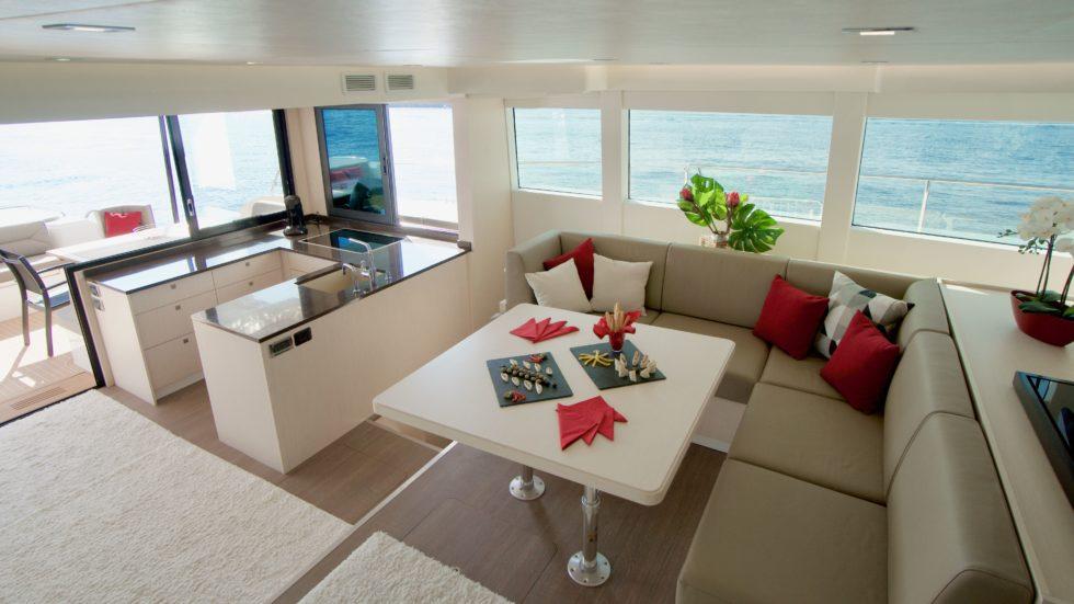 Die Innenansicht der Solar Yacht. Foto: Silent Yachts