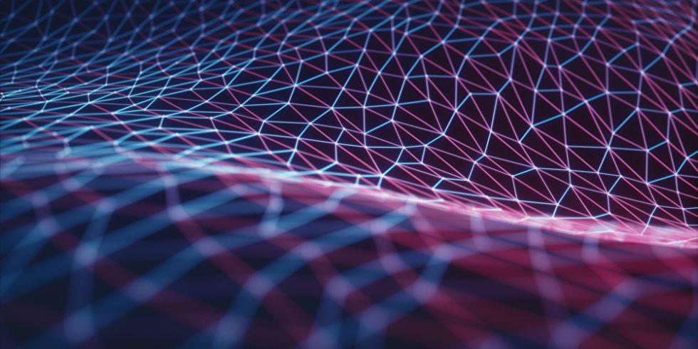 Illustration neuronales Netz