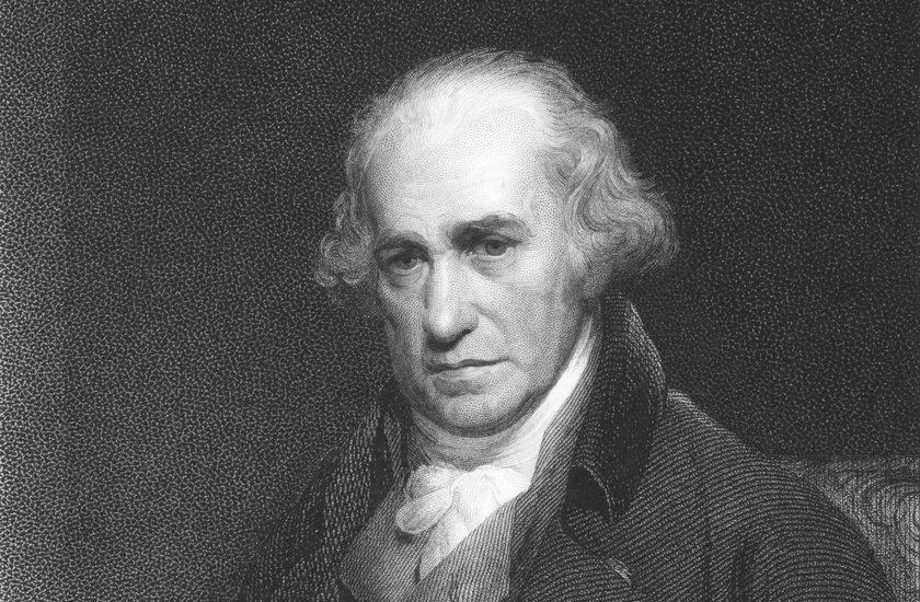 Porträt von James Watt
