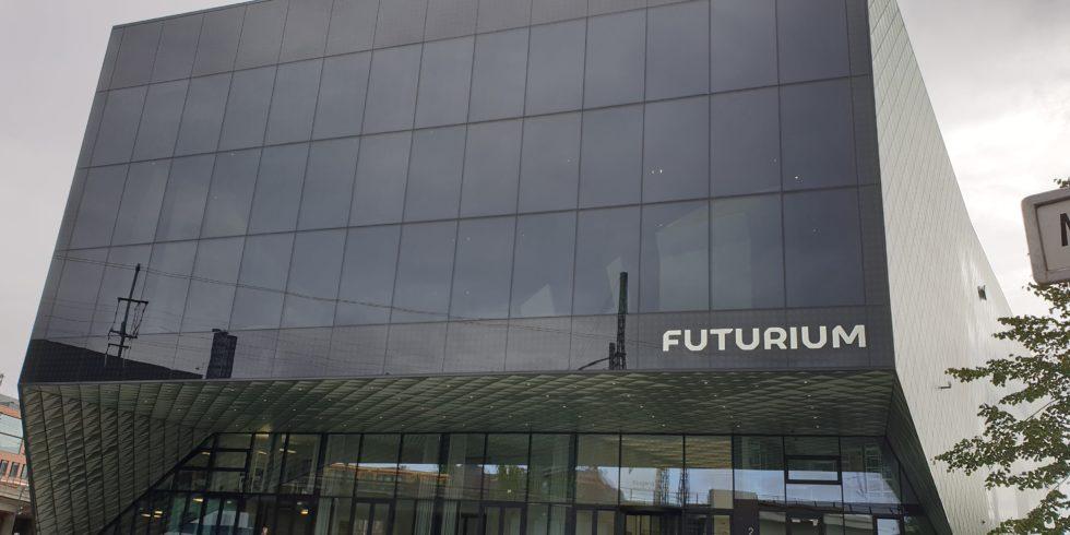 Futuristisches Gebäude: Hier kann jeder einen Blick in die Zukunft wagen.  Foto: Sarah Janczura