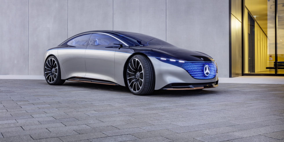 Mercedes Showcar Vision EQS