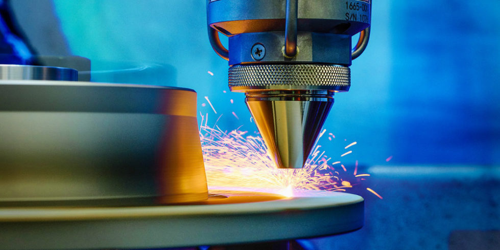 Laser beschichtet Bremsscheibe