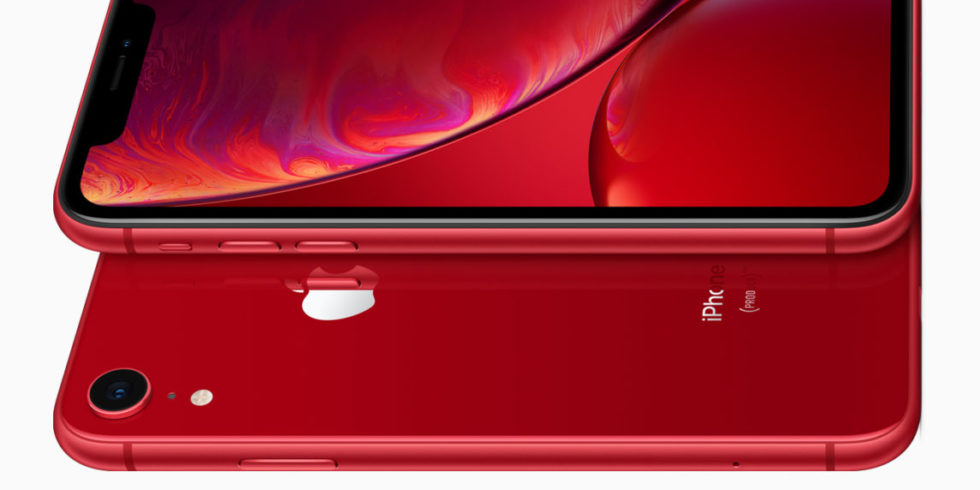 iPhone Xr in rot