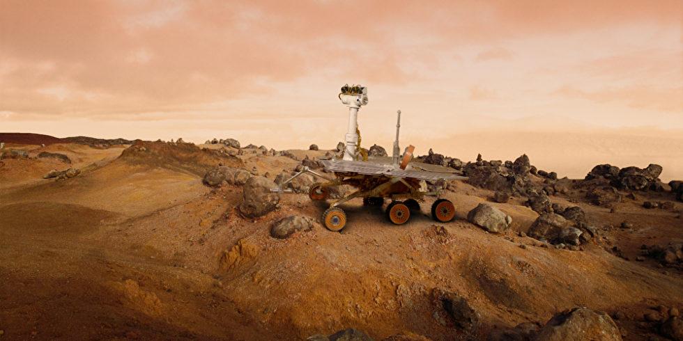 Rover auf dem Mars