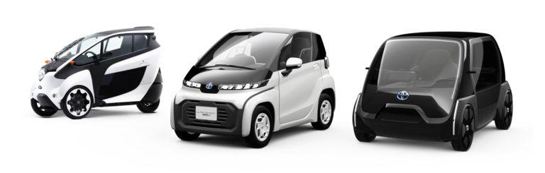Japaner fahren gerne Kleinstfahrzeuge. Sie sind sparsam in jeder Hinsicht: Sprit, Strom, Platz. Foto: Toyota Motor Corporation