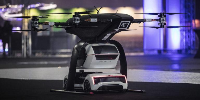 """Das Projekt """"Pop.Up Next"""" von Airbus, Italdesign und – bis vor kurzem – Audi."""