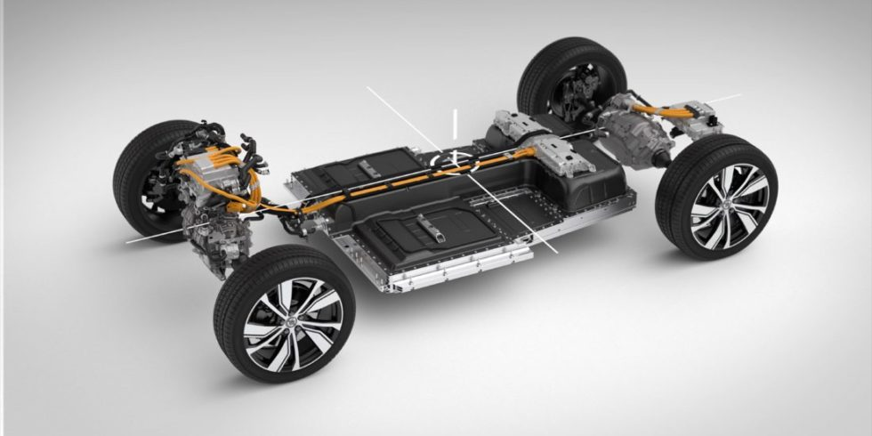 Chassis des Volvo_XC40_Recharge