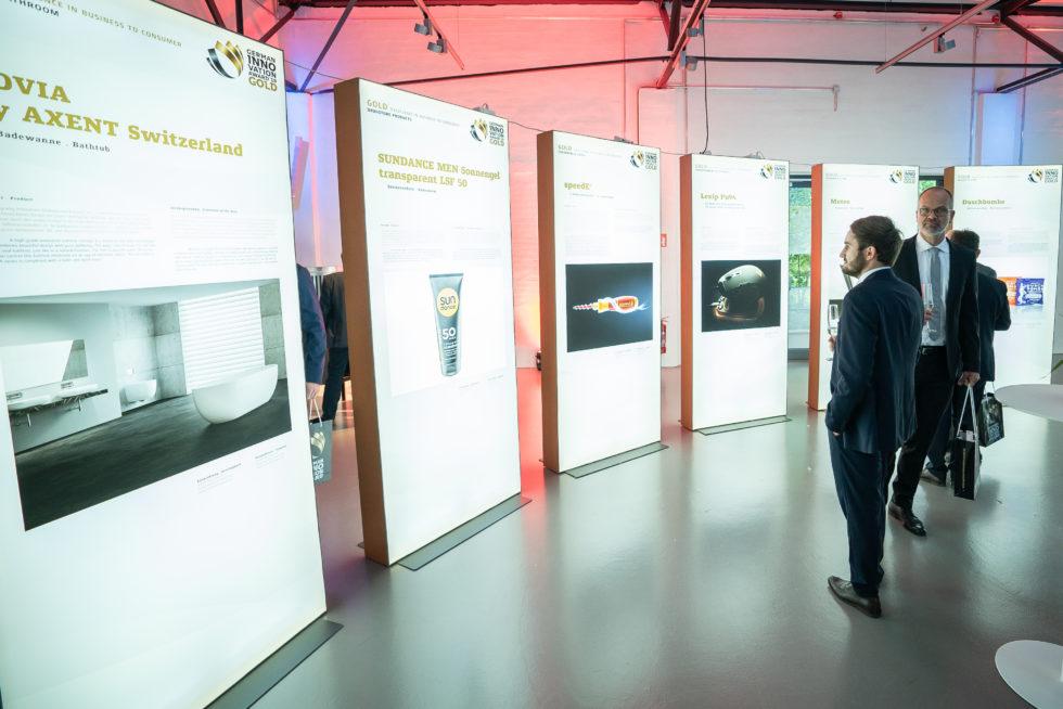 Innovationen mit Mehrwert auf der Preisverleihung des German Innovation Award: Foto: Martin Diepold / Rat für Formgebung