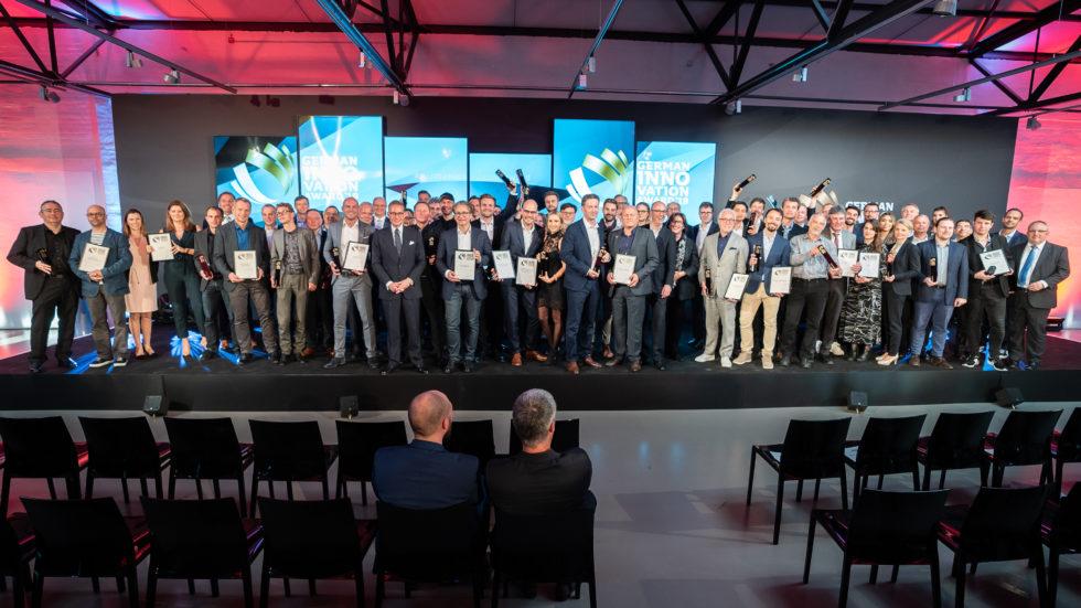 German Innovation Award: Die Bühne für die Besten. Foto: Martin Diepold / Rat für Formgebung