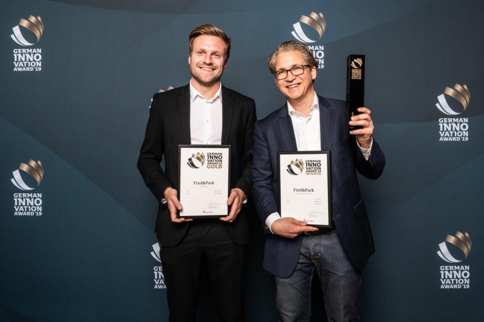 Die Gewinner des German Innovation Award 2019 im Spotlight. Foto: Martin Diepold / Rat für Formgebung