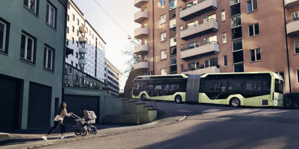 Volvo 7900 EA in der Stadt