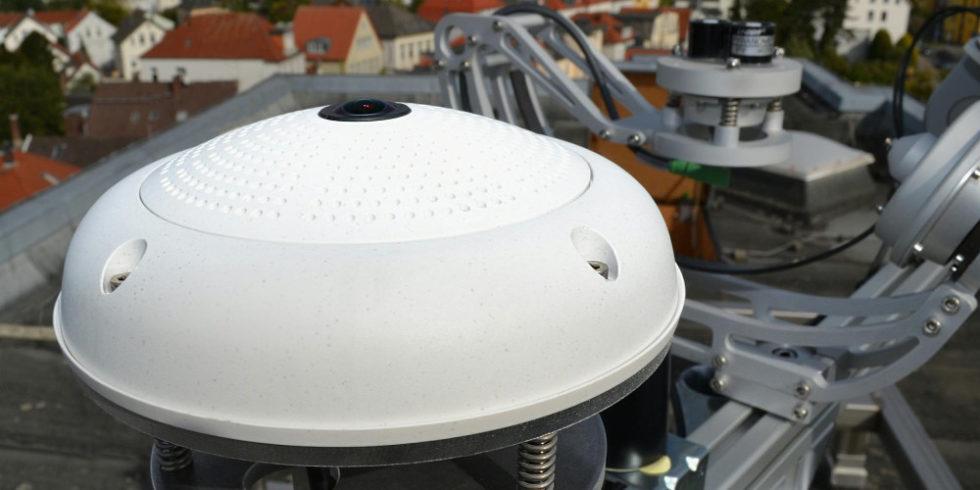 Kamera auf Dach