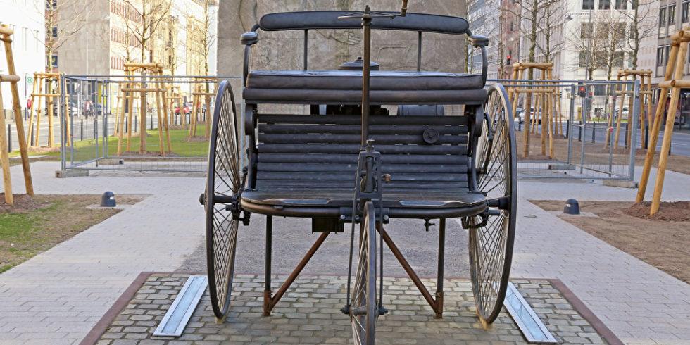 Carl Benz Dreiradfahrzeug