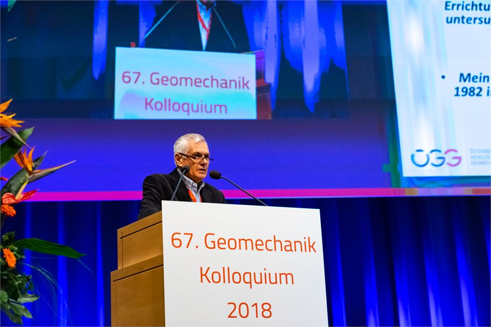 67. Geomechanik Kolloquium 2ß18