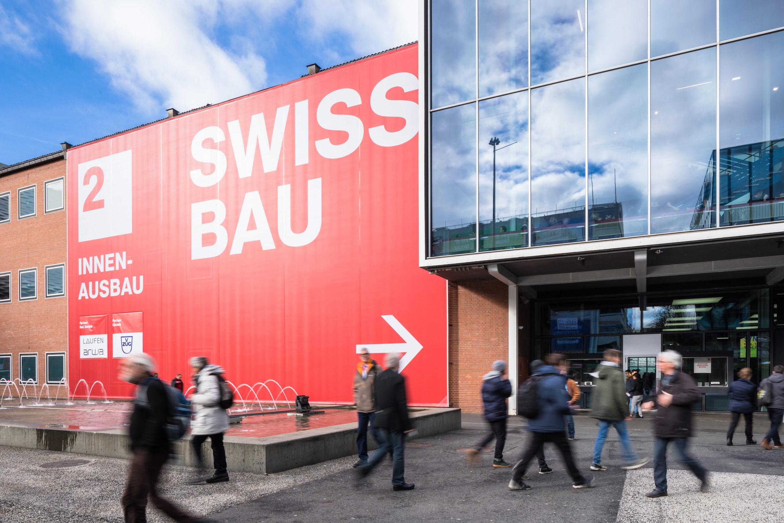 Swissbau 2018 | Aussenansicht | Impression