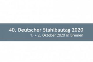 40. Deutscher Stahlbautag