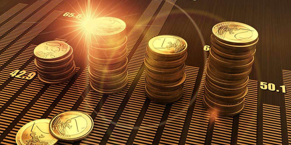Münzen Stapel