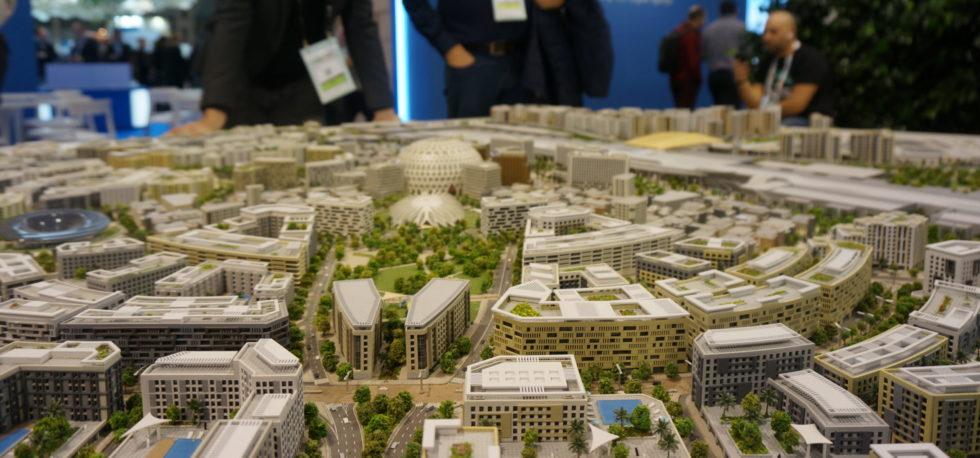 Großes Stadtkonzept auf der Smart City World Expo.
