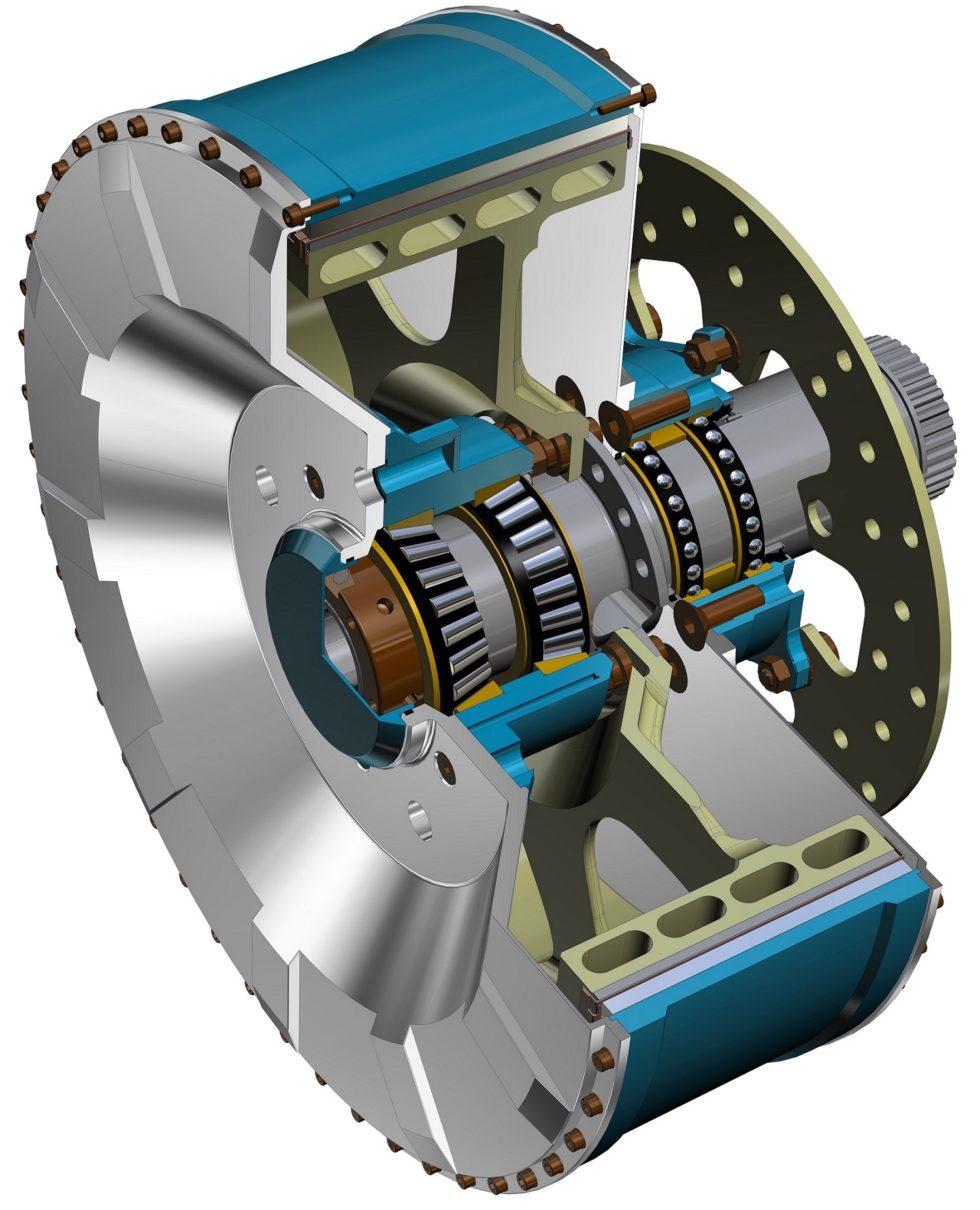 Bild 1 Erster Radnabenmotor. Bild: Verfasser
