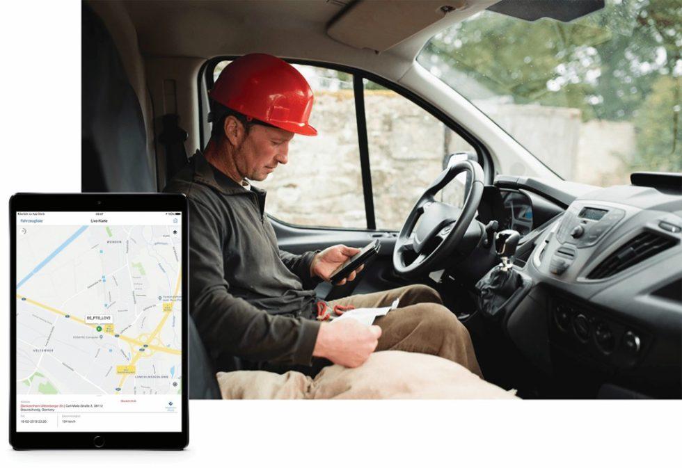 Durch den Einsatz moderner Flottenmanagement-Software lassen sich erhebliche Effizienzsteigerungen erzielen. Bild: Verizon Connect