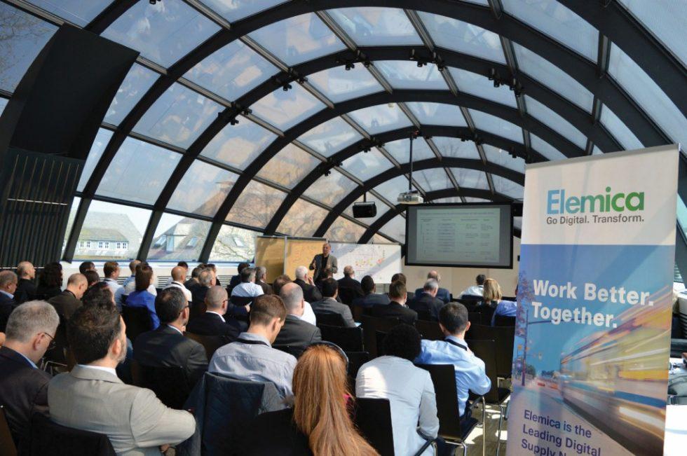 Rund 100 Fachbesucher waren bei der 1. Disruptive Supply Chain Innovations Conference von Elemica im Hotel Schloss Montabaur zu Gast. Bild: Elemica