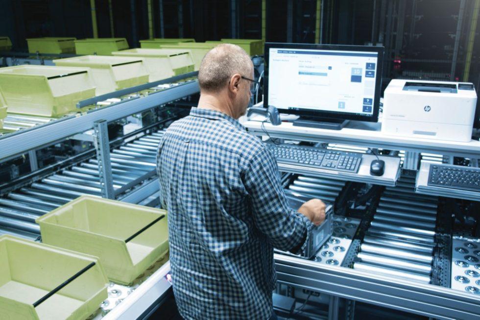 Das neue Lager ist nicht nur Dreh- und Angelpunkt des neuen Standorts von Eisele Pneumatics, sondern auch das Herzstück der Digitalisierung im Unternehmen. Bild: viastore