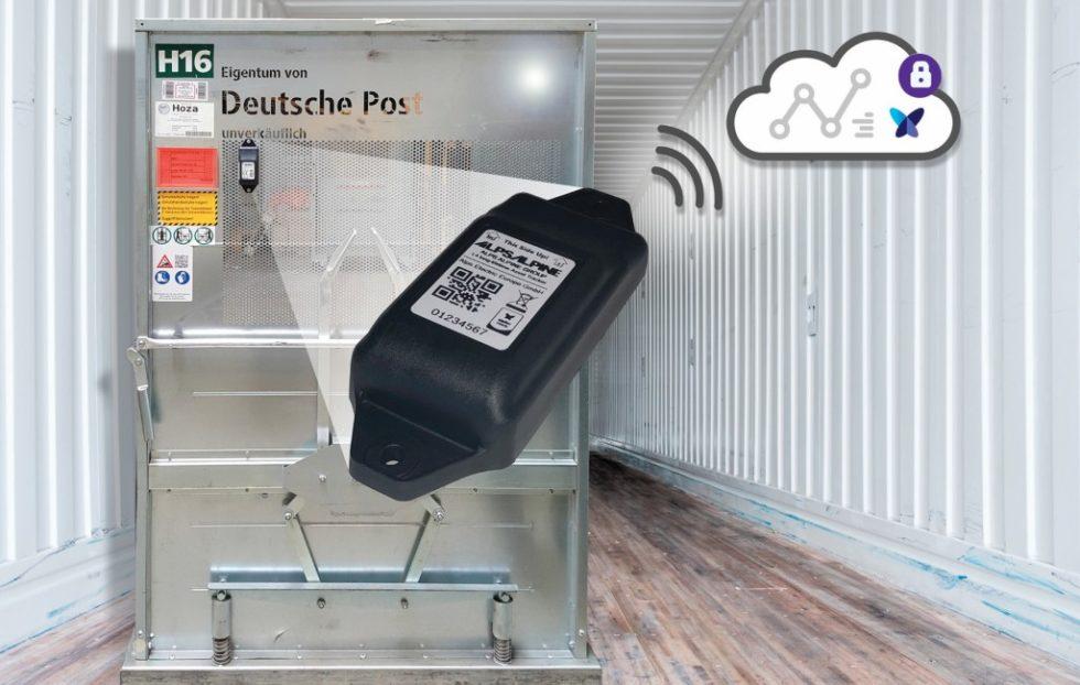 Die Deutsche Post DHL nutzt das 0G-Netzwerk von Sigfox, um die einzelnen Prozesse innerhalb der Lieferkette des deutschen DHL-Paketnetzwerks durch den gezielten Einsatz von vernetzten Sensoren zu optimieren. Bild: Sigfox
