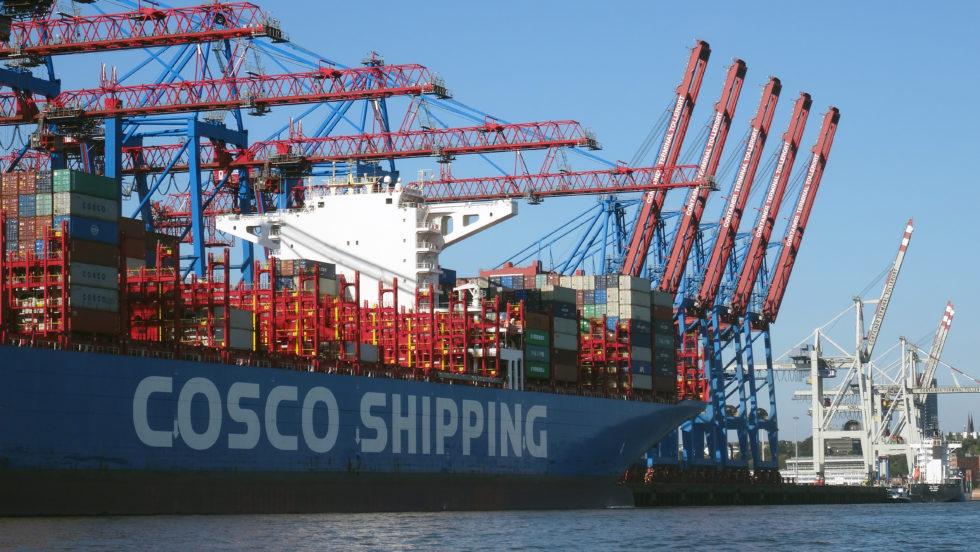 Der Containertransport zwischen dem Hafen Hamburg und Indien ist im ersten Halbjahr 2019 um 17 % gestiegen. Bild: Rolf Müller-Wondorf