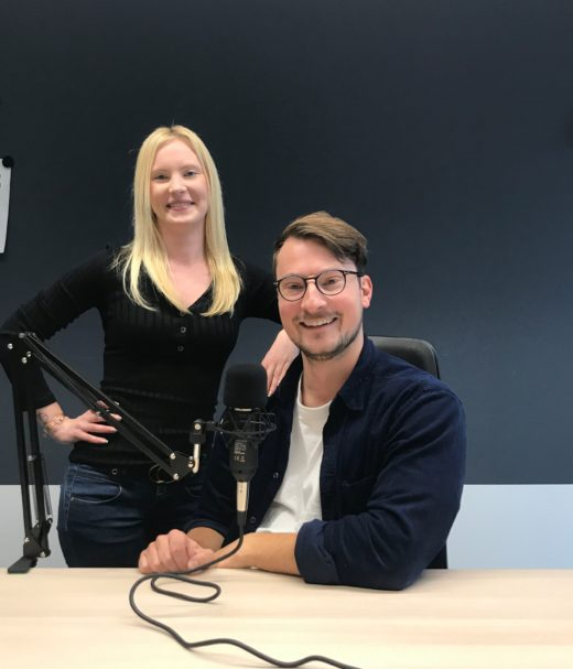 Sarah Janczura und Eike Röckel Podcast VDI Technik aufs Ohr