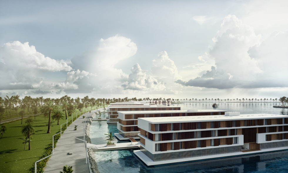 Katar floating hotels