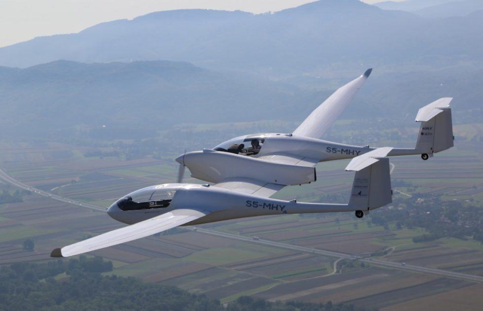4-sitziges Brennstoffzellenflugzeug HY4. Bild: Jean-Marie Urlacher