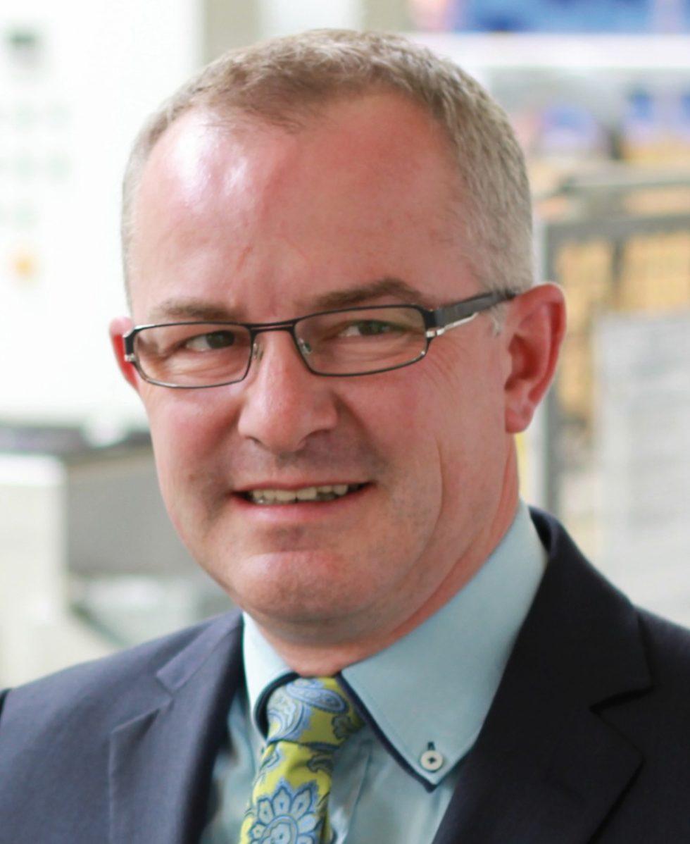 Helmut Reinke, Leiter ‧Marketing und Vertrieb der SSB Wind Systems GmbH & Co. KG, Salzbergen. Bild: SSB Wind Systems