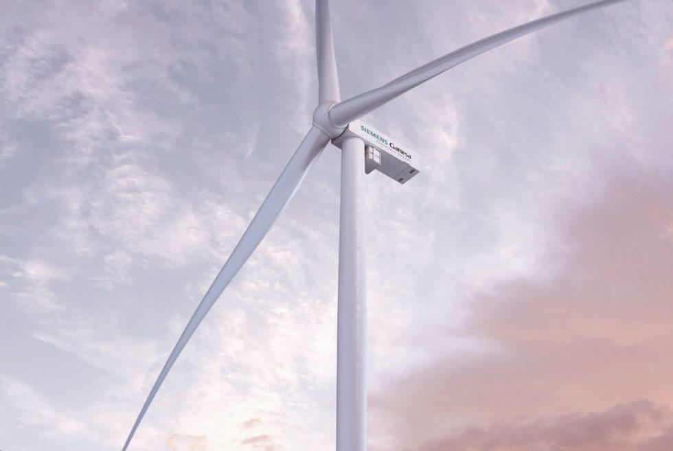 Die neue Onshore-Windturbine SG 5.X. Bild: Siemens Gamesa