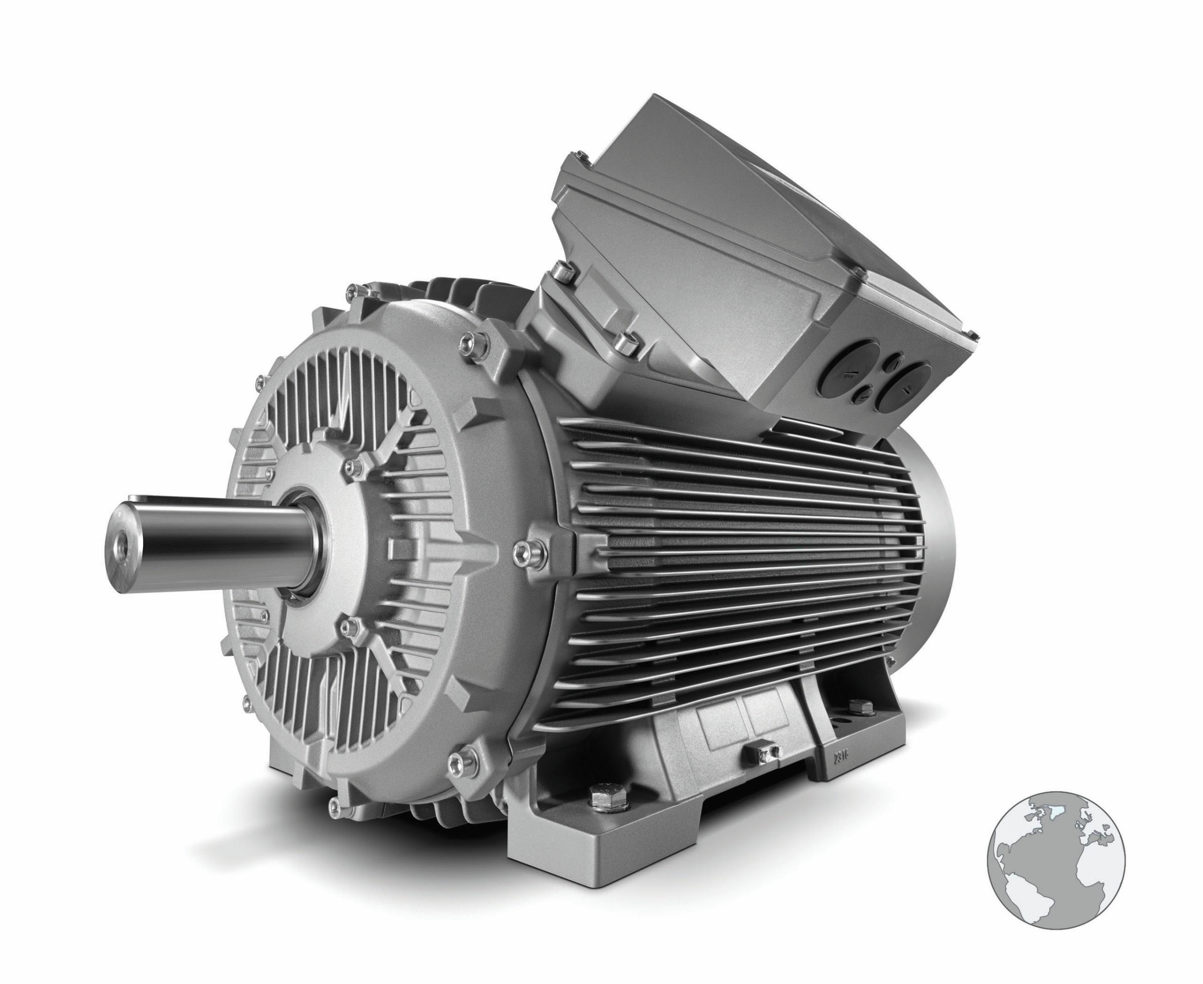 Bild 1 Die neue Variante Simotics SD Pro vervollständigt die nächste Generation performanter Severe-Duty-Motoren von Siemens und ist prädestiniert für einen hochflexiblen, universellen Einsatz weltweit. Bild: Siemens
