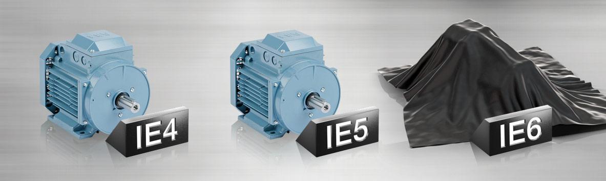 Bild 8 Motoren mit der Effizienzklasse IE5 sind heute bereits einsatzfähig. Bild: ABB