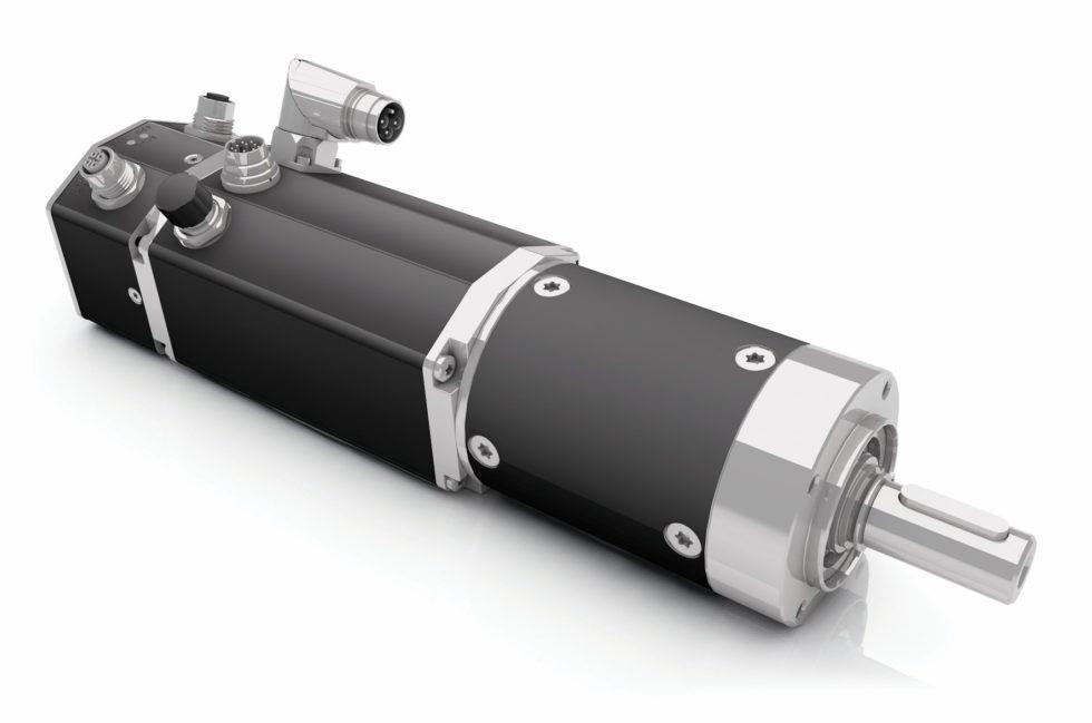Bild Durch die vollständige Integration des Servoverstärkers sind die Komponenten perfekt aufeinander abgestimmt. Bild: Dunkermotoren