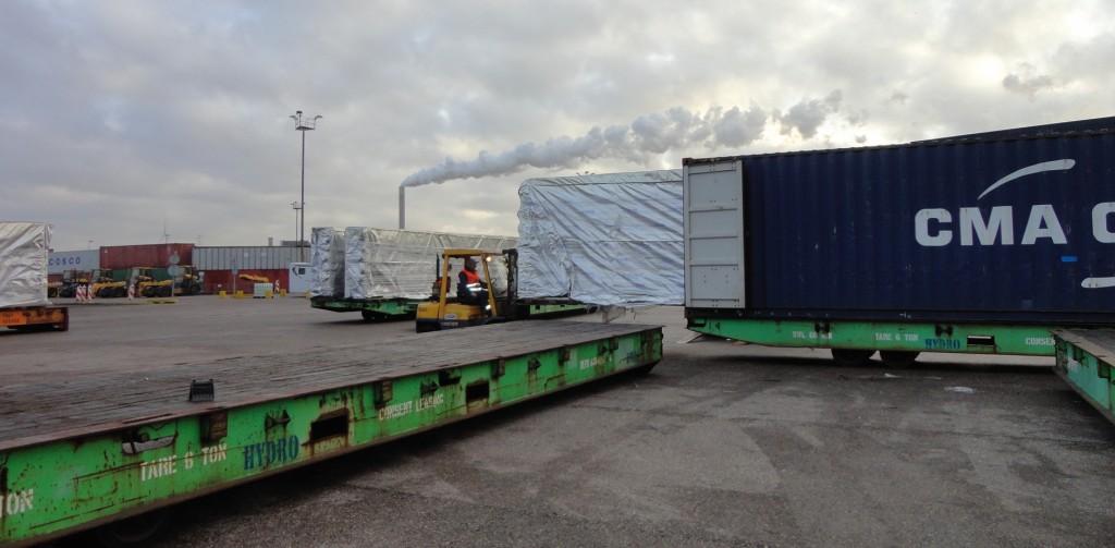 Bild 5 Ein Motorsatz Tischkühler pro 40-Fuß-Container. Bild: Rolls-Royce Power Systems