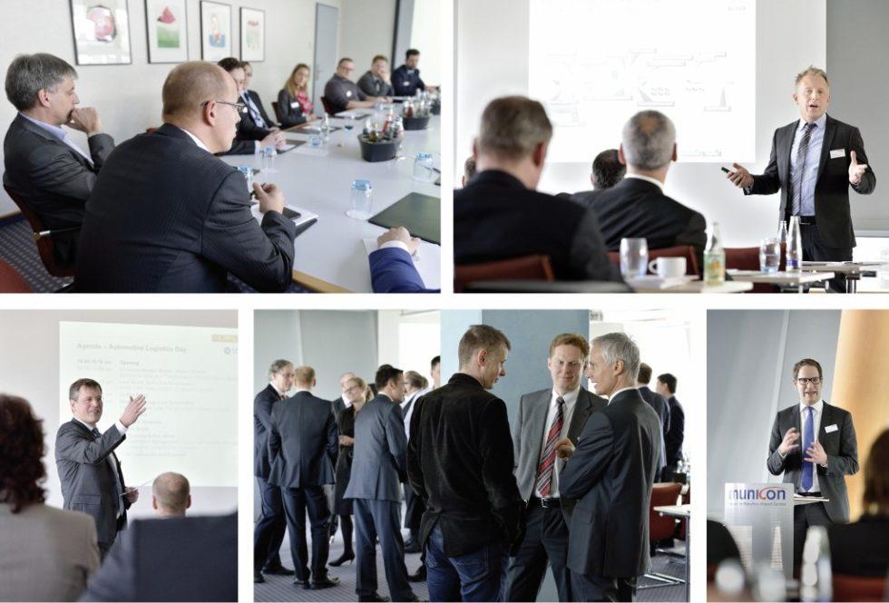 Mehr als 80 Teilnehmer diskutierten jüngst in München während des Automotive Logistics Day über den Themenschwerpunkt integriertes Transportmanagement.Bild: 4flow