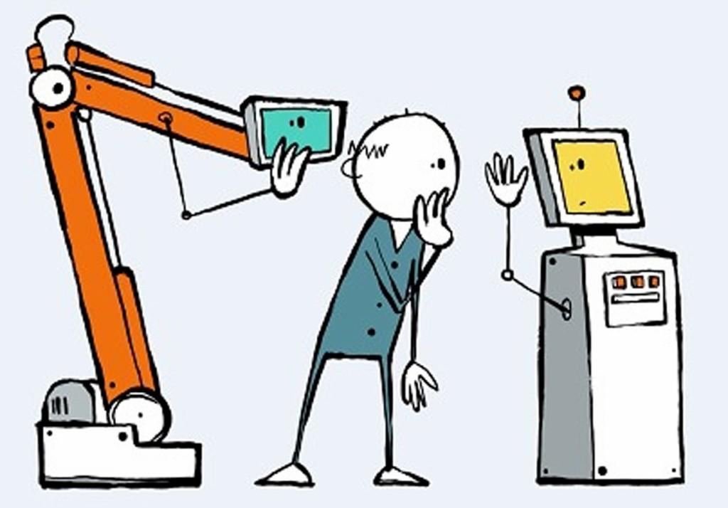 Der Eignungstest für Roboterkollegen. Bild: ROI