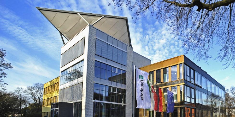 Fraunhofer-inHaus-Zentrum, Außenaufnahme inHaus 2.